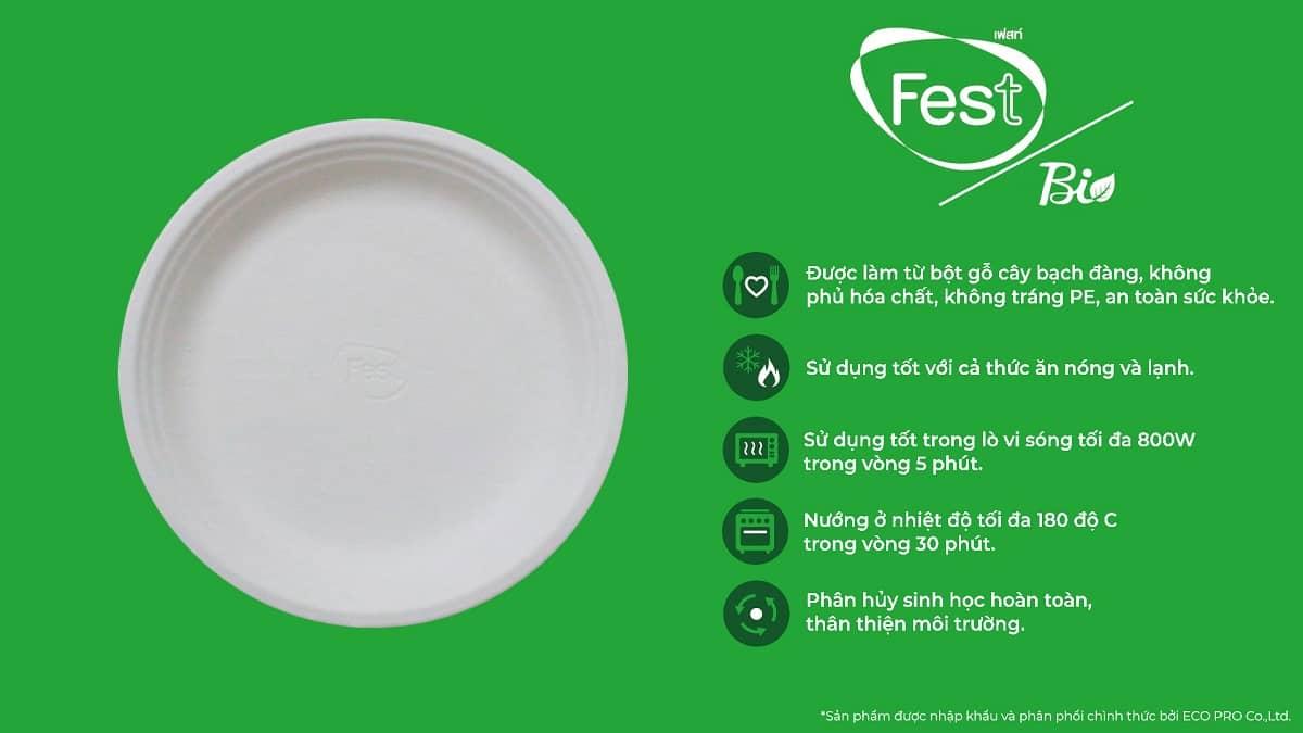 đặc điểm của đĩa giấy fest bio