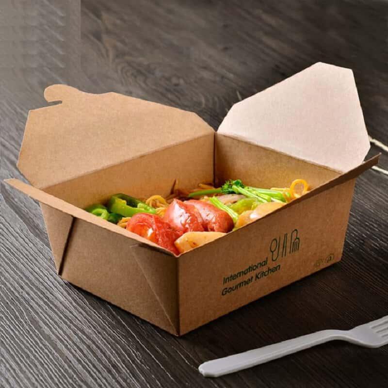 sử dụng hộp giấy thay thế hộp xốp
