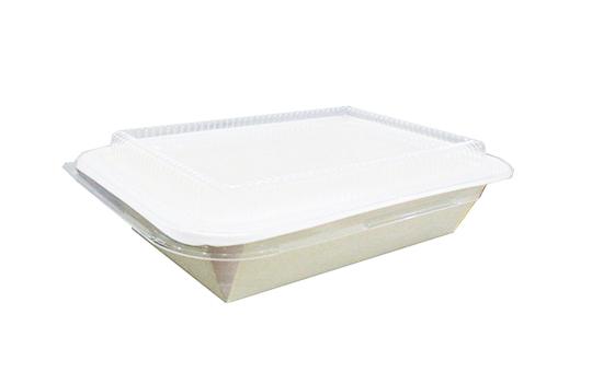 hộp giấy fest choice 1 ngăn nắp pet 650ml