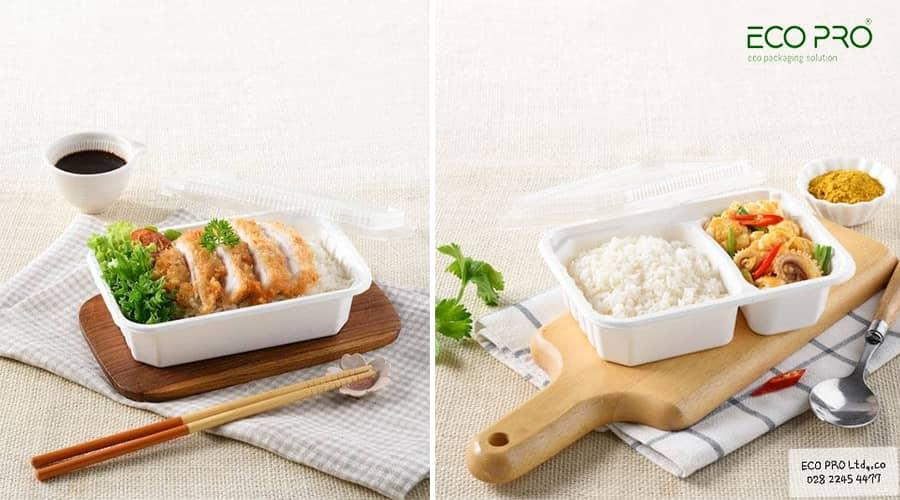 hộp giấy đựng thức ăn đảm bảo vệ sinh an toàn thực phẩm