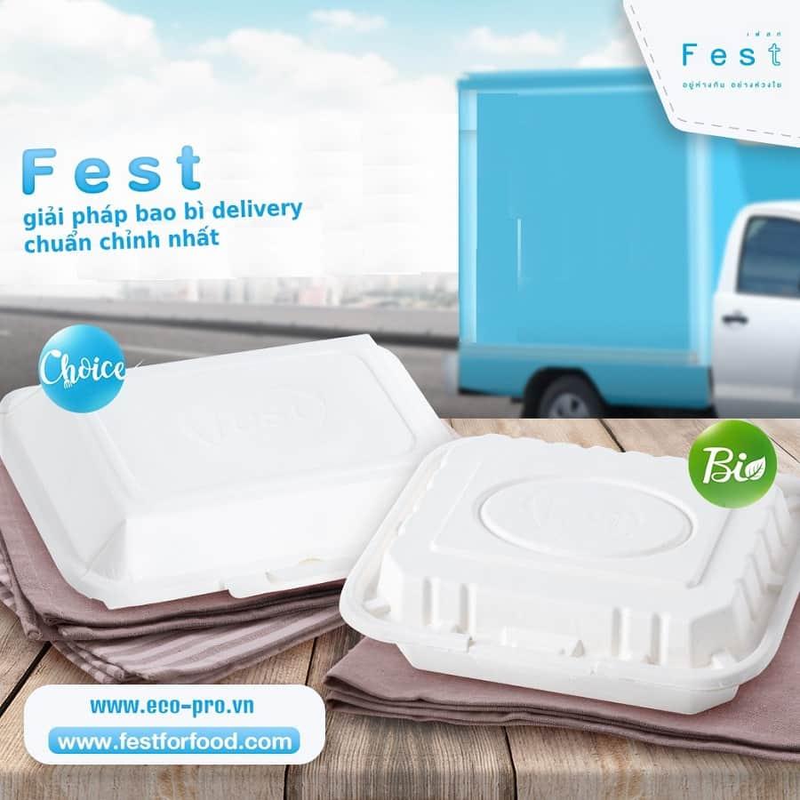 nhu cầu sử dụng hộp giấy thực phẩm