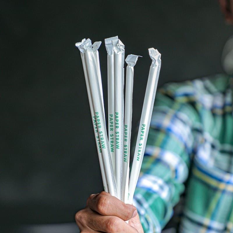 tại sao nên sử dụng ống hút giấy bọc màng