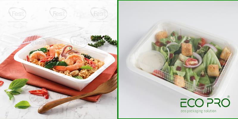 hộp giấy 650ml cho quán ăn nhỏ