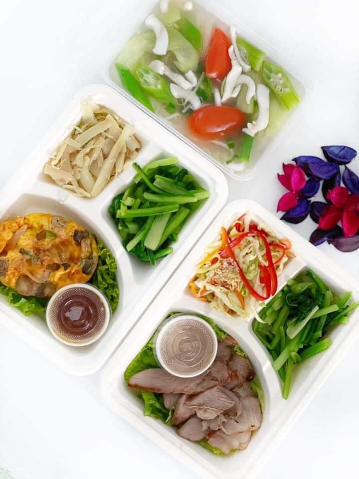 hộp giấy fest là sự lựa chọn phù hợp với nhiều quán cơm, quán ăn nhanh