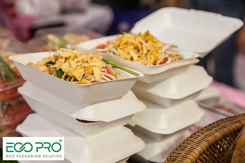 ưu điểm của hộp giấy đựng thức ăn