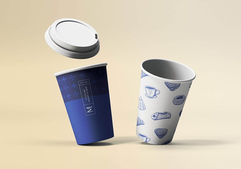 nên chọn ly giấy hay ly nhựa để đựng cafe mang đi