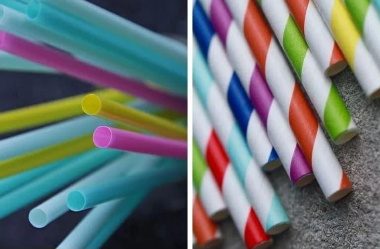 ống hút giấy hay ống hút nhựa